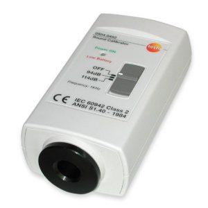 Testo Option for 815 – 816 – Sound Level Calibrator