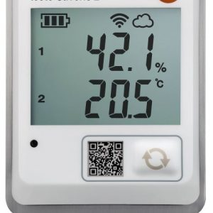 Testo Saveris-2 H2 with connectable temp. & humidity probe