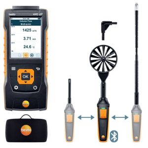 testo 440 delta P Air Flow ComboKit 2 with Bluetooth® 0563 4410