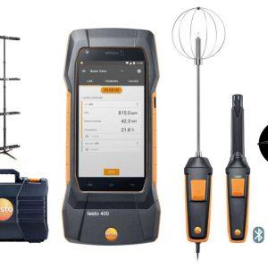 Testo 400 IAQ and Comfort Kit with tripod Part no 0563 0401