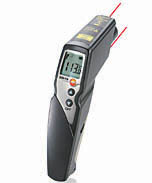 Testo 830-T4 Infrared Thermometer w. 2 Point Laser 30:1 Optics